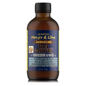 Jamaican Mango & Lime Black Castor Oil Vitamine A-D-E 118 ml