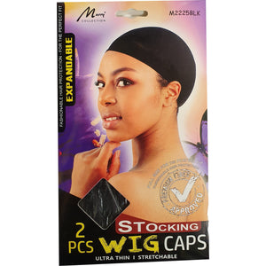 Murray Stocking Wig Stretcable Wig Caps 2 pieces