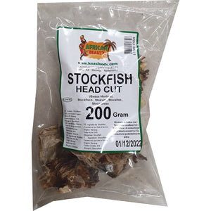 Stockfish Head CUT 200 g