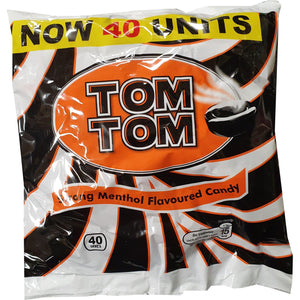 Tom Tom Strong Menthol Flavoured Candy 40 pieces