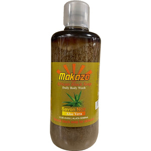 Makazo African Black Soap Aloe Vera 977 ml