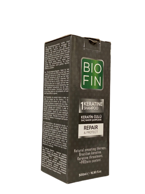 Biofin Keratin Repair Protect Shampoo 500 ml