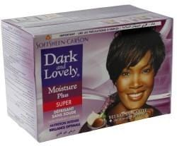 Dark and Lovely Moisture Seal Plus Shea Butter Relaxer Super