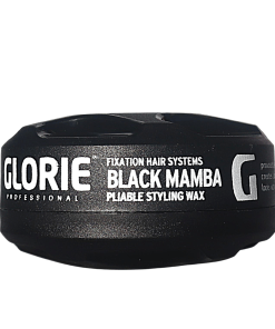Hairwax - Glorie Fixation Dry Styling Wax Black Color Wax 150 ml