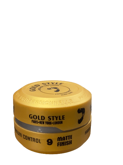 Gold Style 9 Matte Finish Hair Wax 150 ml