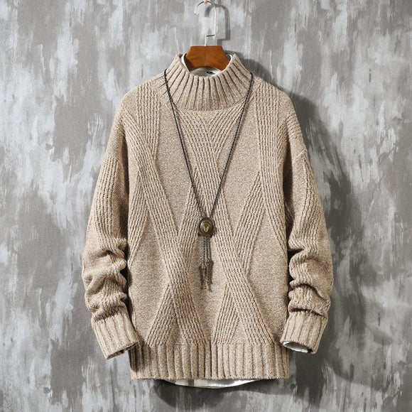 Men'S Sweaters Spring Autumn Winter Clothes 2020 Pull OverSize M-4XL 5XL Korea Style Casual Standard Pullovers