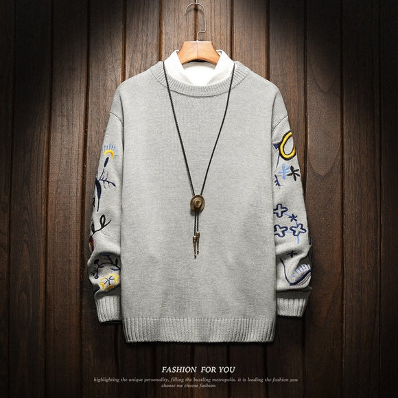 Christmas Men'S Sweaters Winter Clothes 2020 Plus OVERSize  M-4XL 5XL 6XL Japan Style Casual Standard Designer Pullovers