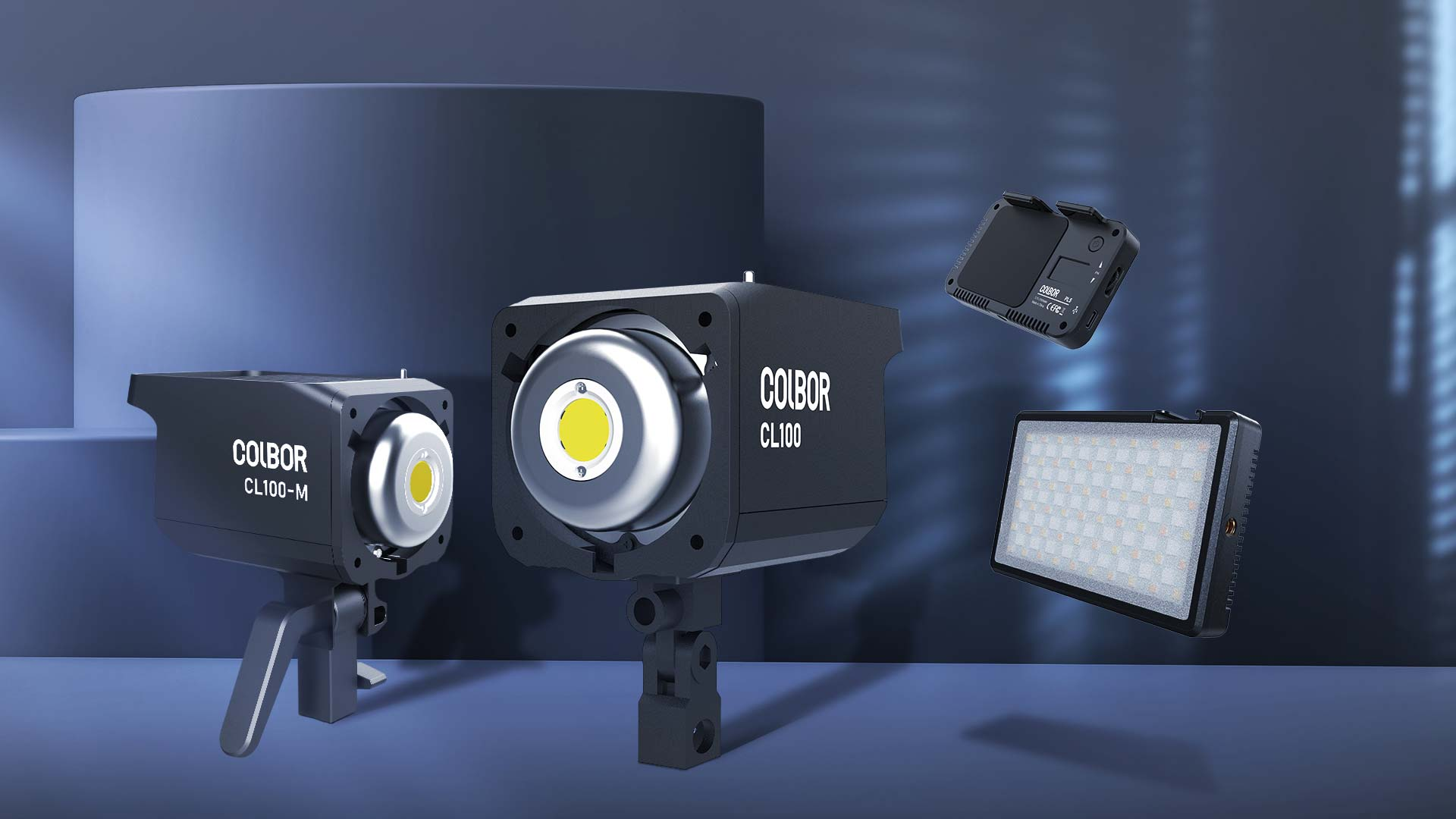 COLBOR continuous lights