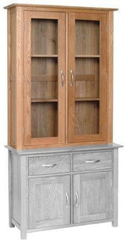 Blue Oak 2 Door Dresser Top
