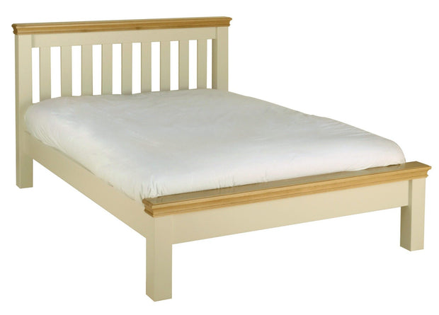 Lune Low Foot End Bed