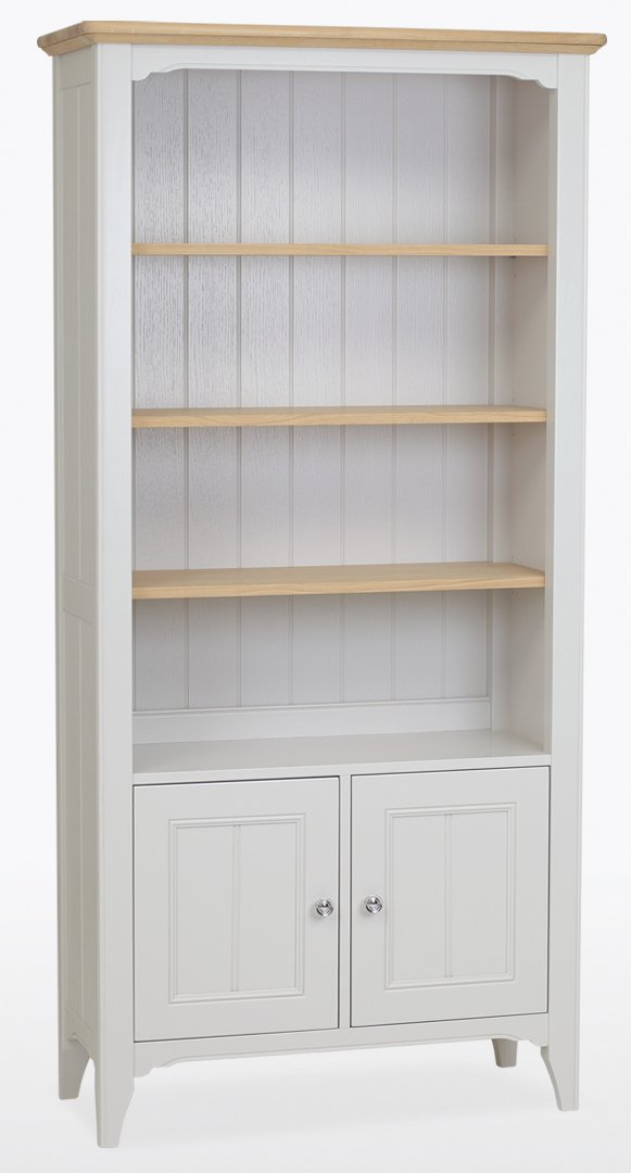 New York Painted Bookcase – 2 Door