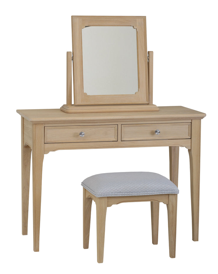 New York Oaked Dressing Table