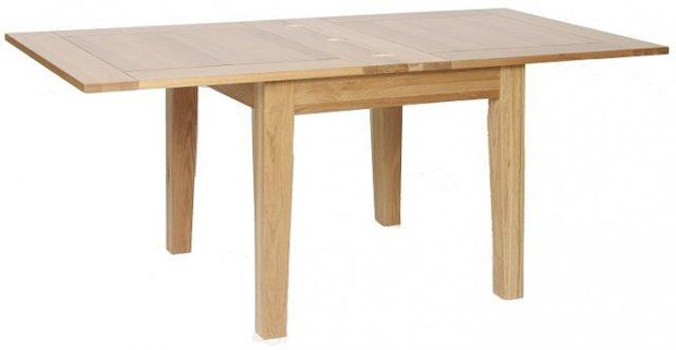 Blue Oak Flip Top Extending Table 0.9m - 1.8m