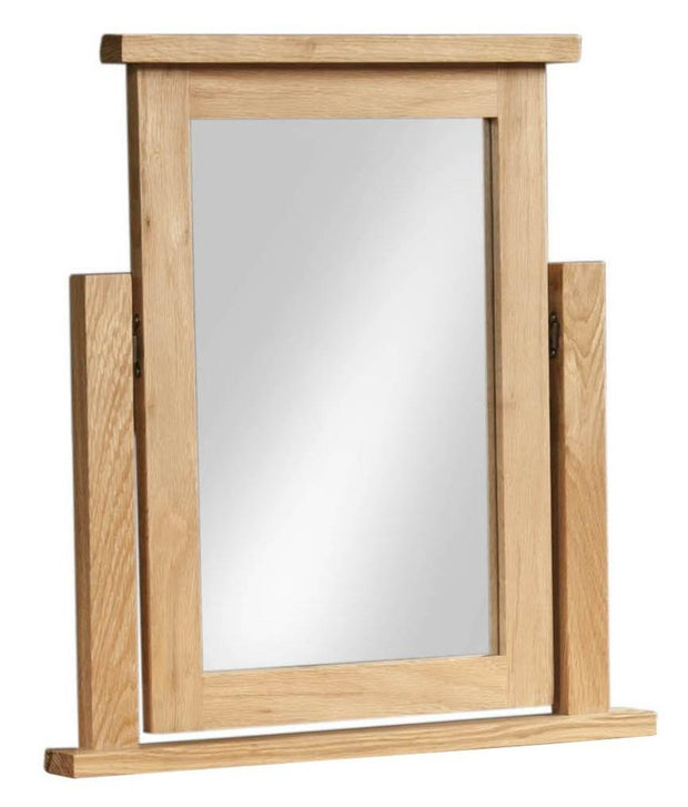Blue Oak Single Dressing Table Mirror