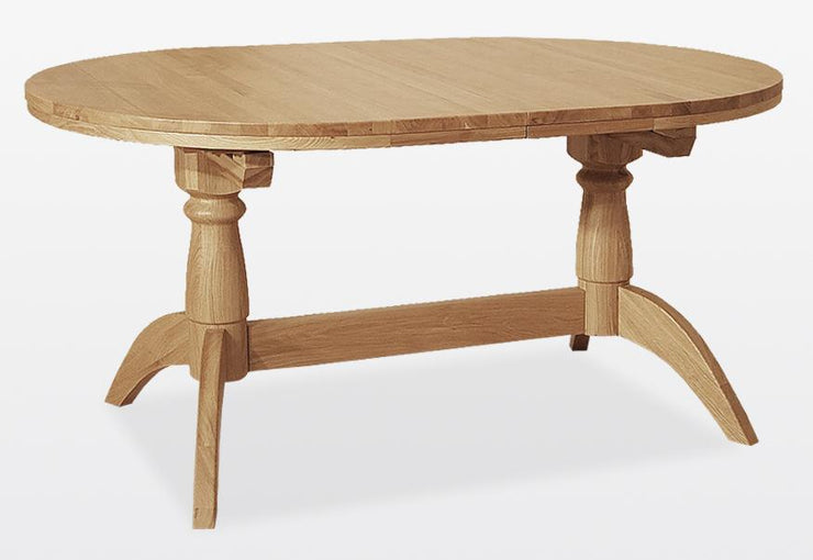 Wichita Table – Oval, Extending, Double Pedestal