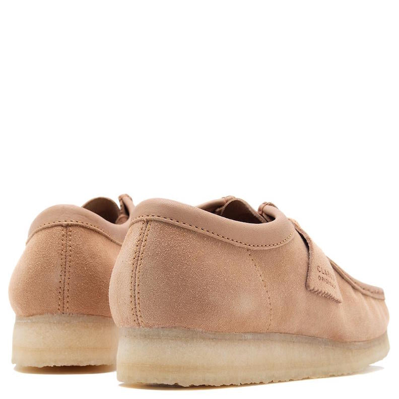 Men's Clarks Wallabee - leather/suede combo
