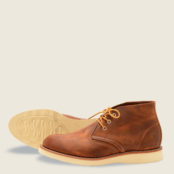 Red Wing Work Chukka - Copper