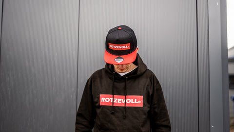 rotzevoll ®  basic hoody | red days
