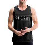 sierza ® tank top| chemical techno - Schwarz