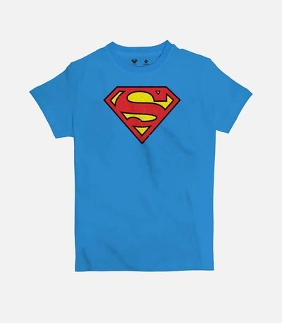 Superman Logo | Kid's Basic Cut T-shirt - Jobedu Jordan