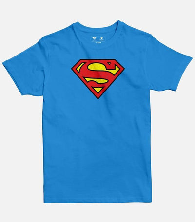 Superman Logo | Men's Basic Cut T-shirt - Jobedu Jordan