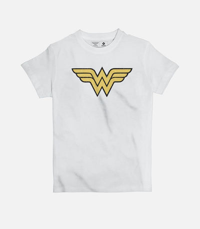 Wonder Woman Logo | Kid's Basic Cut T-shirt - Jobedu Jordan