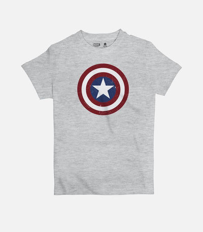 Captain America Shield | Kid's Basic Cut T-shirt - Jobedu Jordan