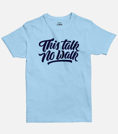 This Talk No Walk | Men's Basic Cut T-shirt - Jobedu Jordan