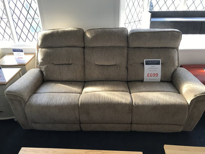 Fornells 3 Seater Recliner Sofa - FAST TRACK
