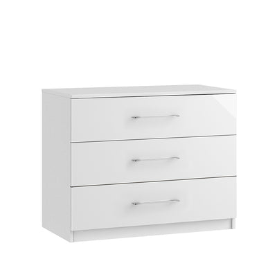 Roma 3 Drawer Midi Chest