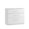 Roma 3 Drawer Chest (Inc. one deep drawer)