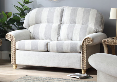 Stamford Natural 2 Seater Sofa & Tranditional