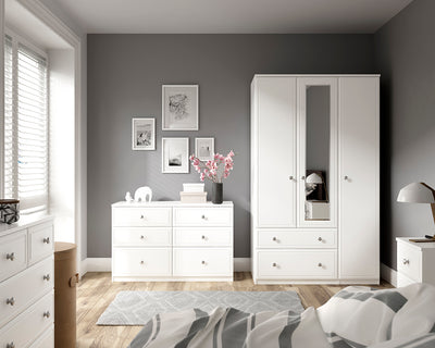 Treviso 8 Drawer Twin Chest (inc. two deep drawers)