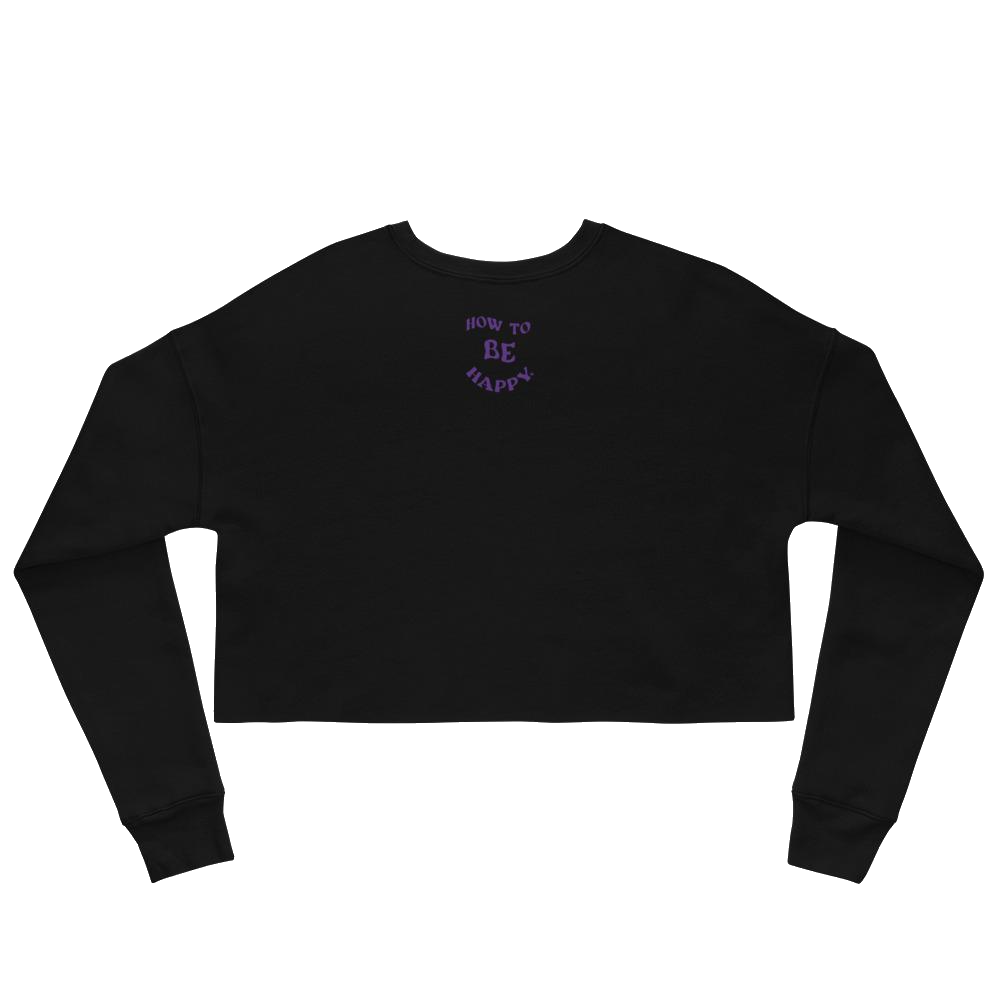 LIMITED EDITION DUALITY CROP SWEATSHIRT
