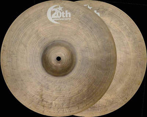 "Bosphorus 20th Anniversary 16"" Hi-Hat - Cymbal House"