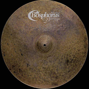 "Bosphorus Master Vintage 24"" Crash - Cymbal House"