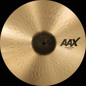 "Sabian AAX 18"" Medium Crash Natural Finish - Cymbal House"