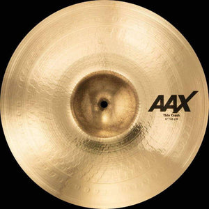 "Sabian AAX 17"" Thin Crash Brilliant Finish - Cymbal House"