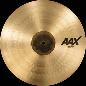 "Sabian AAX 18"" Thin Crash Natural Finish - Cymbal House"