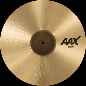 "Sabian AAX 17"" Thin Crash Natural Finish - Cymbal House"