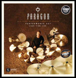 Sabian Paragon Performance Set Natural Finish - Cymbal House