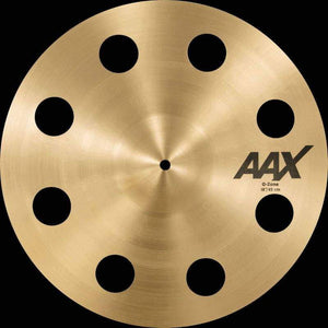 "Sabian AAX 18"" O-Zone Crash Natural Finish - Cymbal House"