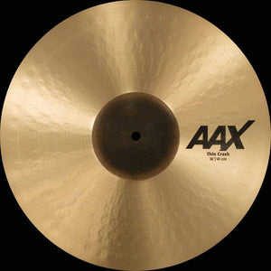 "Sabian AAX 16"" Thin Crash Natural Finish - Cymbal House"