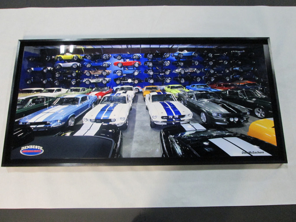 Wall Of Cobras Aluminum Print