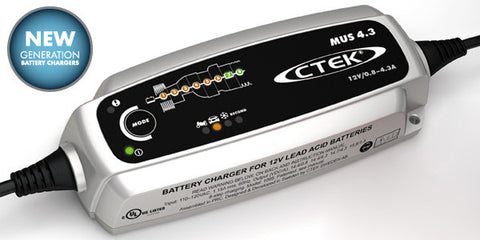 C-Tek Battery Charger 4.3 - 12V