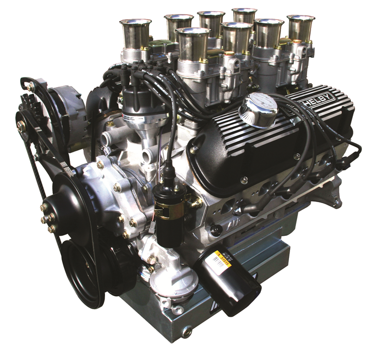 Aluminum 289; 331CI with Weber Carburetor System (450 HP)