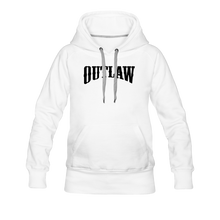 Load image into Gallery viewer, Women's Premium Hoodie Outlaw - white