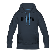 Load image into Gallery viewer, Women's Premium Hoodie Outlaw - navy