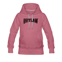 Load image into Gallery viewer, Women's Premium Hoodie Outlaw - mauve