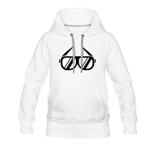 Load image into Gallery viewer, Women's Premium Hoodie Sunglasses - white